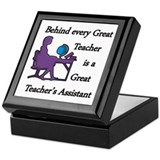 Cute Careers and professions Keepsake Box
