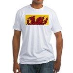 Red Welsh Fitted T-Shirt