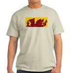Red Welsh Ash Grey T-Shirt