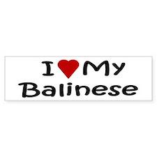 Balinese Bumper Bumper Sticker
