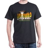 Black got truth? (orange3) T Shirt Black T-Shirt