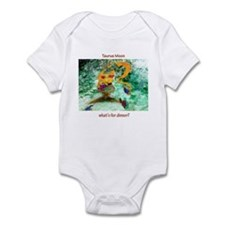 Taurus Moon dinner time Infant Bodysuit