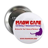 "Who's Maow Care? 2.25"" Button (100 pack)"