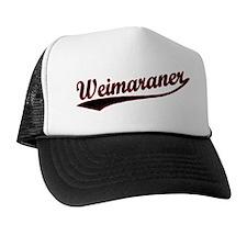 Weimaraner Varsity Trucker Hat