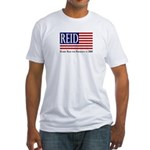 Patriotic President Reid '08 Fitted T-Shirt