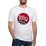Harry Reid President 2008 Fitted T-Shirt