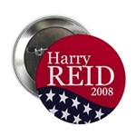 Harry Reid for President in 2008 Button