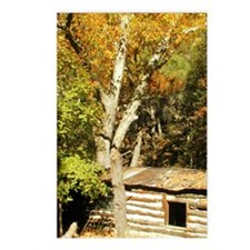 Fall Colors Log Cabin Postcards (Package of 8)