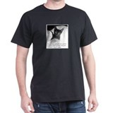 Spoiled Kitten-And-Quote Black T-Shirt