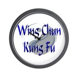 Wing Chun Kung Fu Wall Clock