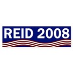 Harry Reid 2008 bumper sticker