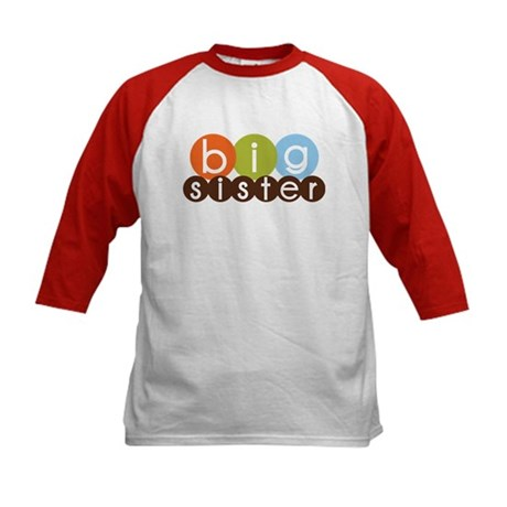 mod circles big sister shirts Kids Baseball Jersey