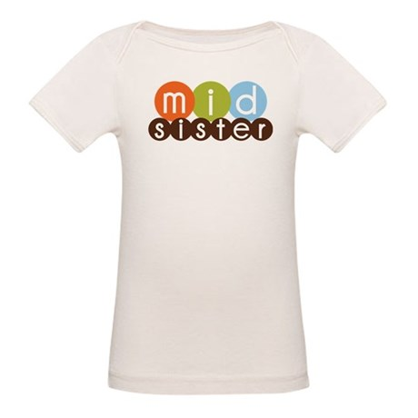mod circles middle sister shirts Organic Baby T-Sh