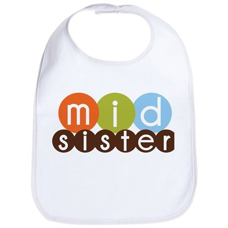 mod circles middle sister shirts Bib