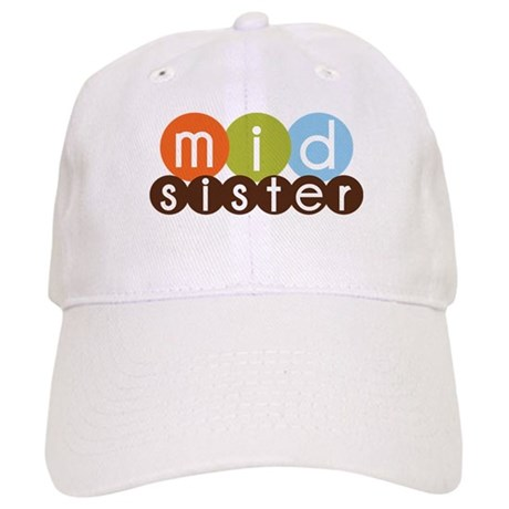 mod circles middle sister shirts Cap