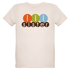 mod circles little sister shirts Organic Kids T-Sh