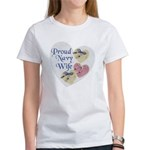 Proud Navy Wife Women's T-Shirt