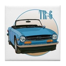 Funny Transportation Tile Coaster