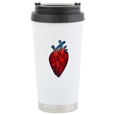 Ceramic Travel Mug with Mended Heart