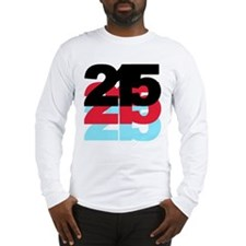 215 Area Code Long Sleeve T-Shirt