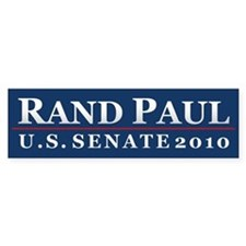 Rand Paul 2010 Bumper Bumper Sticker