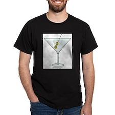 Martini Black T-Shirt