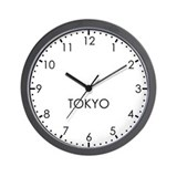TOKYO Modern Newsroom Wall Clock