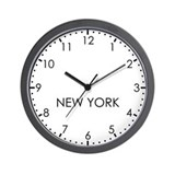 New york newsroom Wall Clocks