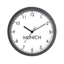 MUNICH Modern Newsroom Wall Clock