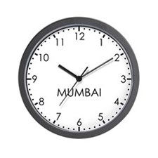 MUMBAI Modern Newsroom Wall Clock
