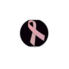Pink Ribbon Mini Button (10 pack)