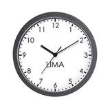 LIMA Modern Newsroom Wall Clock