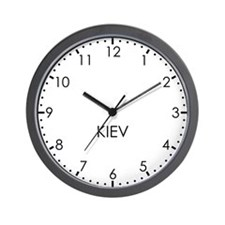 KIEV Modern Newsroom Wall Clock