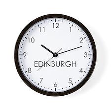 EDINBURGH Modern Newsroom Wall Clock