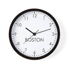 BOSTON Modern Newsroom Wall Clock