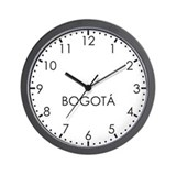 BOGOTA Modern Newsroom Wall Clock