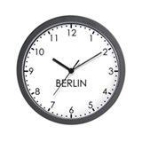 BERLIN Modern Newsroom Wall Clock
