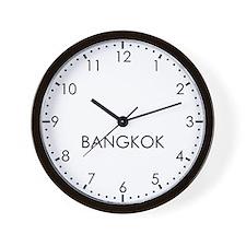 BANGKOK Modern Newsroom Wall Clock