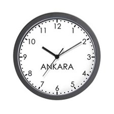 ANKARA Modern Newsroom Wall Clock