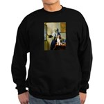 Woman w/Pitcher - Beagle Sweatshirt (dark)