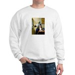 Woman w/Pitcher - Beagle Sweatshirt