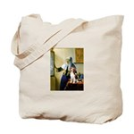 Woman w/Pitcher - Beagle Tote Bag