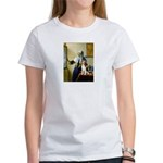 Woman w/Pitcher - Beagle Women's T-Shirt