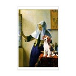 Woman w/Pitcher - Beagle Mini Poster Print