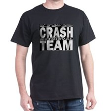 UFO Crash & Retrieval Team Black T-Shirt