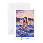 Pisces Greeting Cards (Pk of 10)