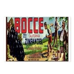 Bocce Label Postcards (Package of 8)