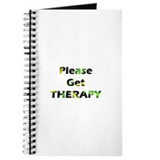 please get therapy Journal