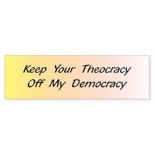 Off My Democracy Bumper Sticker