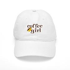 Coffee Girl Baseball Cap